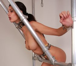 Belts self bondage Chasity