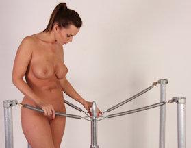 Male slave cock suck force bondage